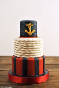 Classic Nautical Cake