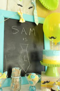 Little Man 1st Birthday Party by Lauren Kapeluck  |  TheCakeBlog.com