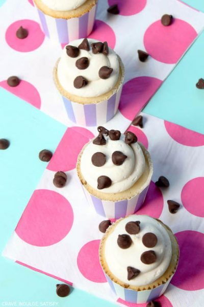 Recipe : Chocolate Chip Cupcakes