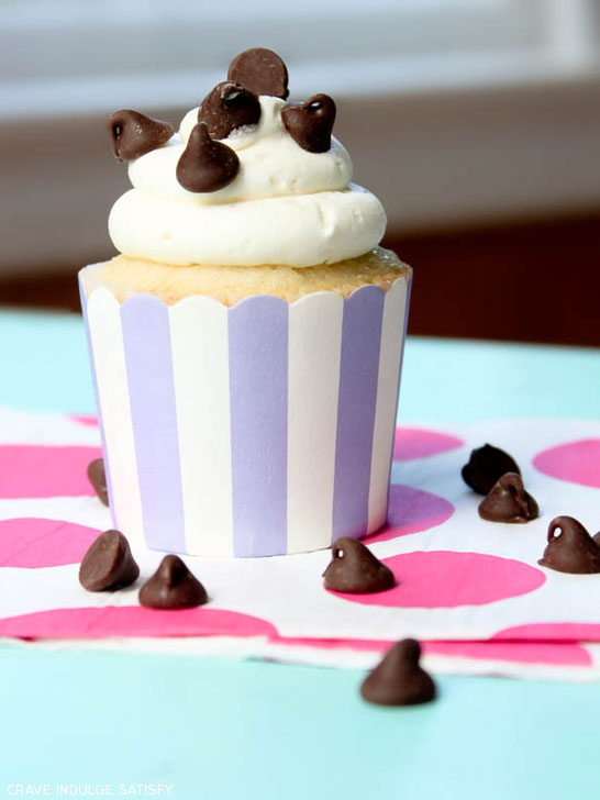 Chocolate Chip Cupcakes by Lauren Kapeluck | TheCakeBlog.com