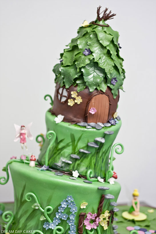 Fairy Princess Birthday Cake | by Dream Day Cakes | TheCakeBlog.com