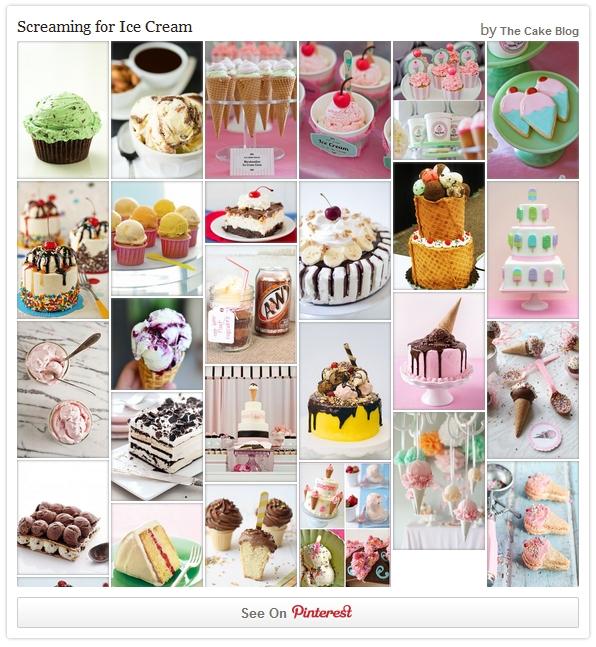 Ice Cream Cake Inspiration on Pinterest