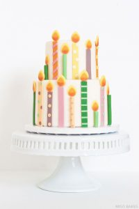DIY: Birthday Candles Cake