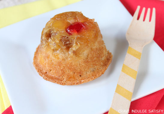 Pineapple Upside-Down Cupcake by Lauren Kapeluck | TheCakeBlog.com