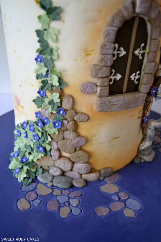 Rapunzel Cake by Sweet Ruby Cakes | TheCakeBlog.com