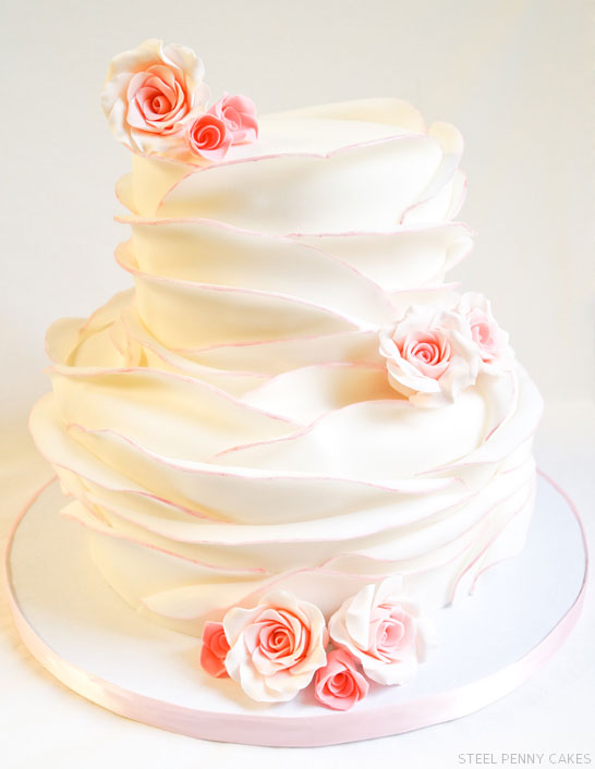 Rose Petal Cake By Steel Penny Cakes Thecakeblog Com