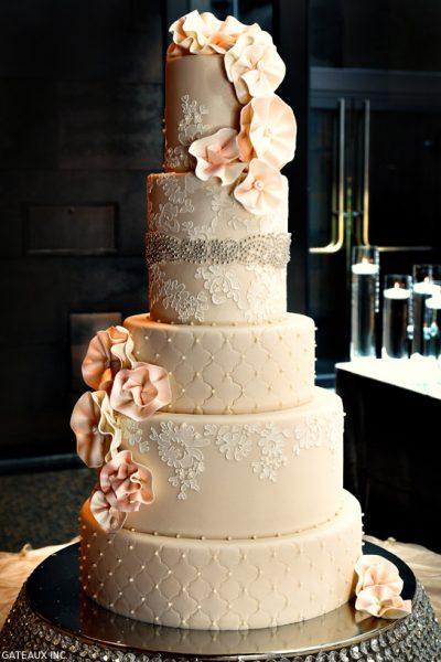 Alencon Lace Cake