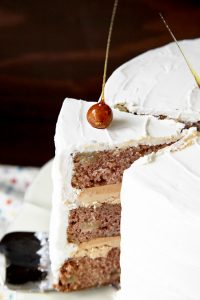 Apple Spice Cake Recipe  |  by Tessa Huff  |  TheCakeBlog.com