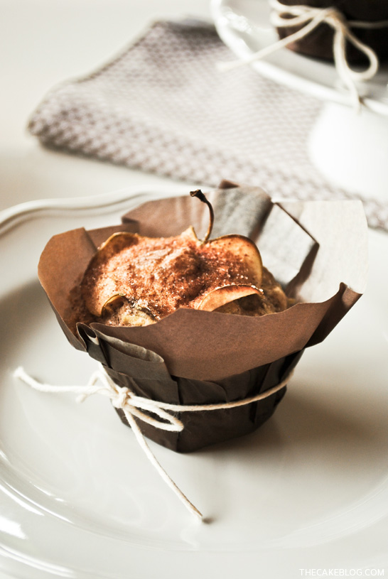 Apple Muffin Recipe  |  TheCakeBlog.com