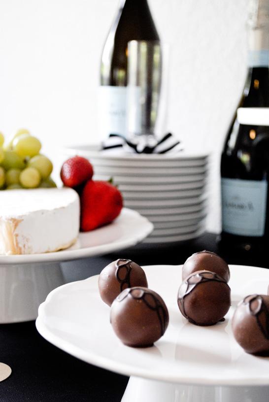 Godiva Truffle Flight | Truffle Tasting Party Inspiration | TheCakeBlog.com