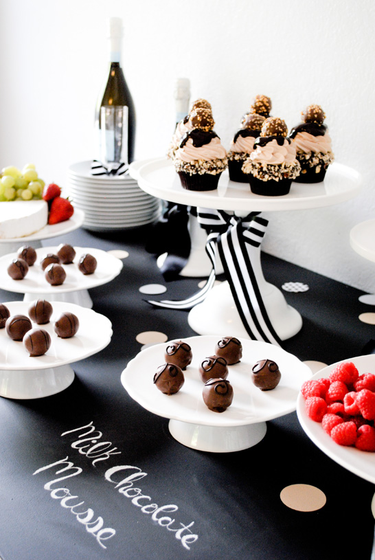 Godiva Truffle Flight | Tasting Party Inspiration | TheCakeBlog.com
