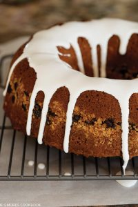S'mores Coffee Cake Recipe | by Susan Whetzel, author of The S'mores Cookbook  |  TheCakeBlog.com