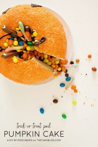 DIY : Pumpkin Pail Cake
