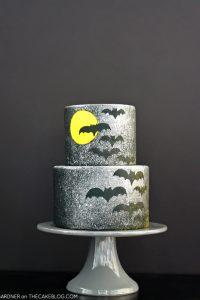 Spooky Splatter Halloween Cake
