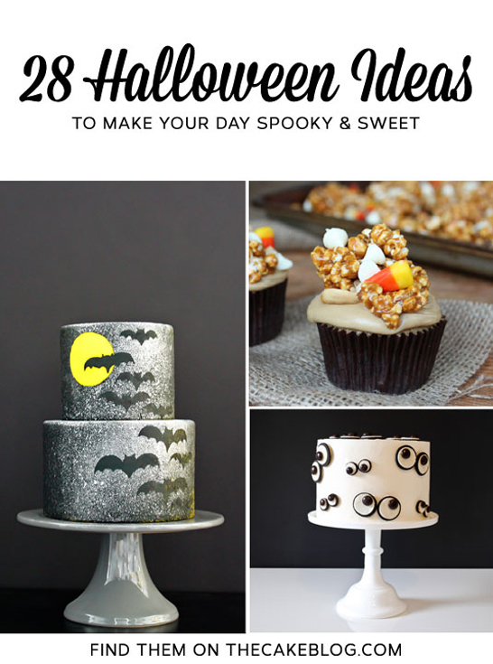 28 Halloween Ideas | TheCakeBlog.com