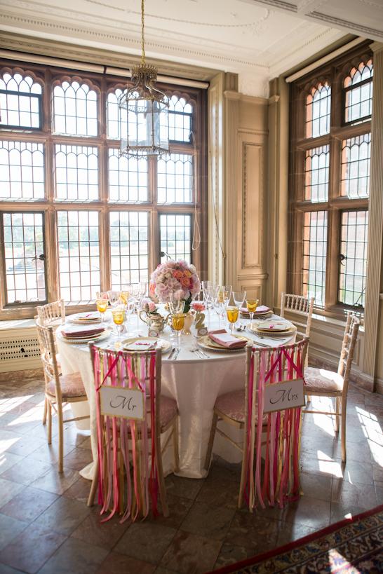 Pink & Gold Wedding Inspiration | TheCakeBlog.com