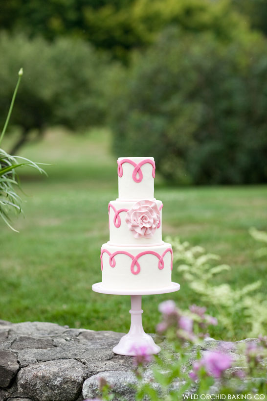 Victorian Cake Display | by Wild Orchid Baking Co | #PinkWeek on TheCakeBlog.com