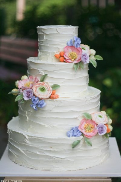 Rustic Buttercream & Sugar Flowers