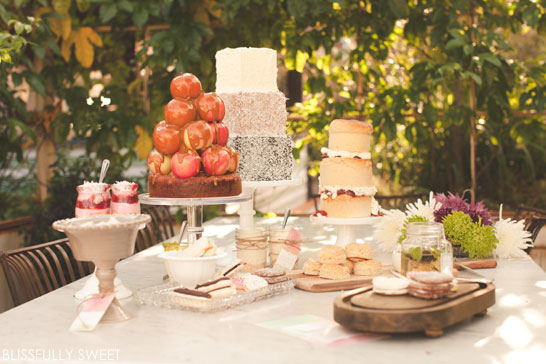 Urban Gardner Dessert Display | by Blissfully Sweet | TheCakeBlog.com