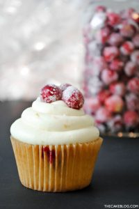Recipe: Cranberry Orange Cupcakes