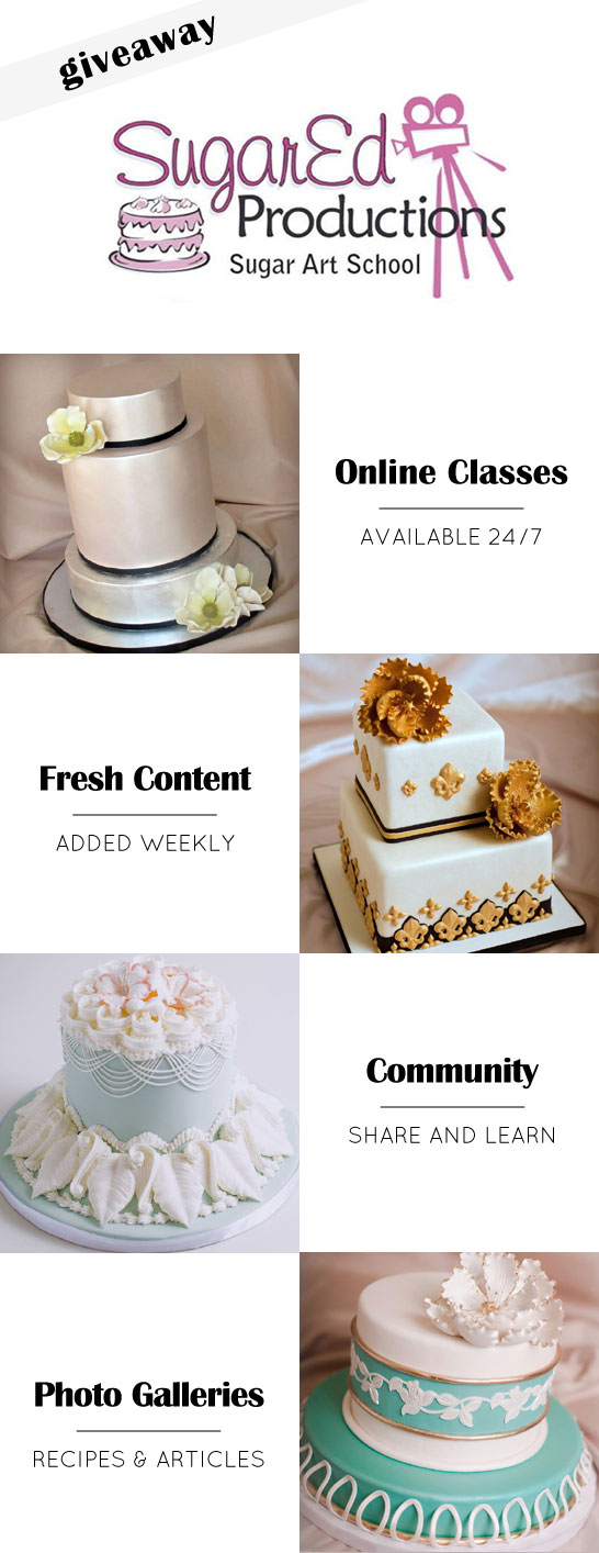 Sugar Ed Productions Giveaway  |  TheCakeBlog.com