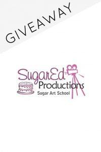SugarEd Productions Giveaway | TheCakeBlog.com