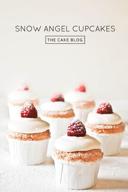 Recipe Snow Angel Cupcakes The Cake Blog