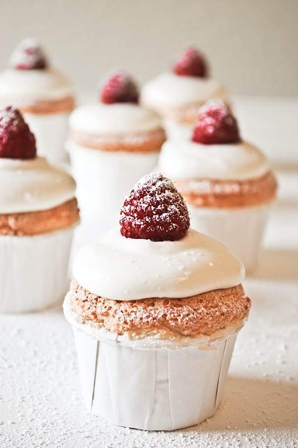 Image result for angel food cupcakes