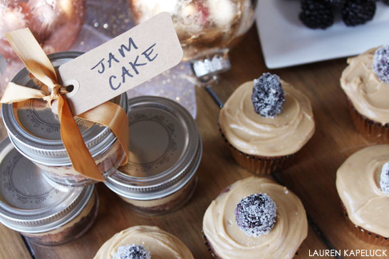 Blackberry Jam Cupcakes | by Lauren Kapeluck