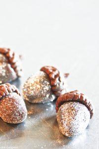 DIY Sparkling Glitter Acorns  |  by Erin Gardner