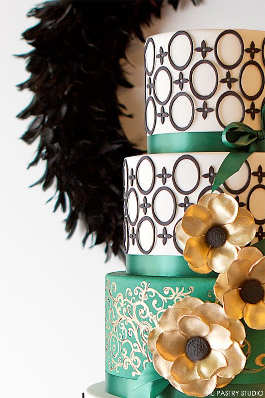 Inspired by Christmas Dinner | The 5th Cake of Christmas by The Pastry Studio #12CakesOfChristmas