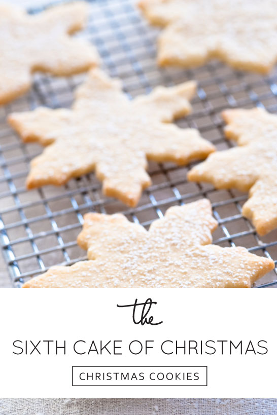 Inspired by Christmas Cookies | The 6th Cake of Christmas | #12CakesOfChristmas