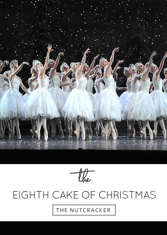 Inspired by The Nutcracker | The 8th Cake of Christmas | by Jenna Rae Cakes | #12CakesOfChristmas
