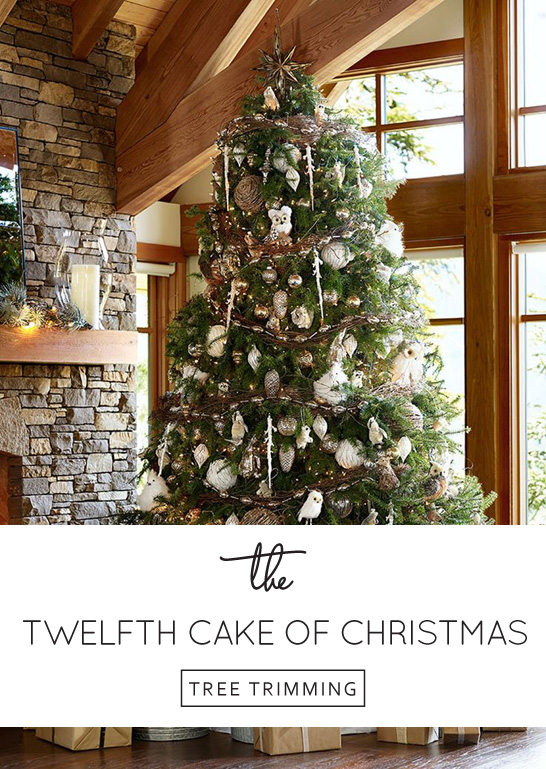 Inspired by Tree Trimming | The 12th Cake of Christmas | by Fondant Flinger | #12CakesOfChristmas