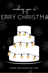 Merry Christmas from The Cake Blog