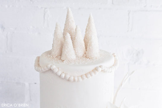 Dreaming of a White Christmas | The Ninth Cake of Christmas | by Erica O'Brien #12CakesOfChristmas
