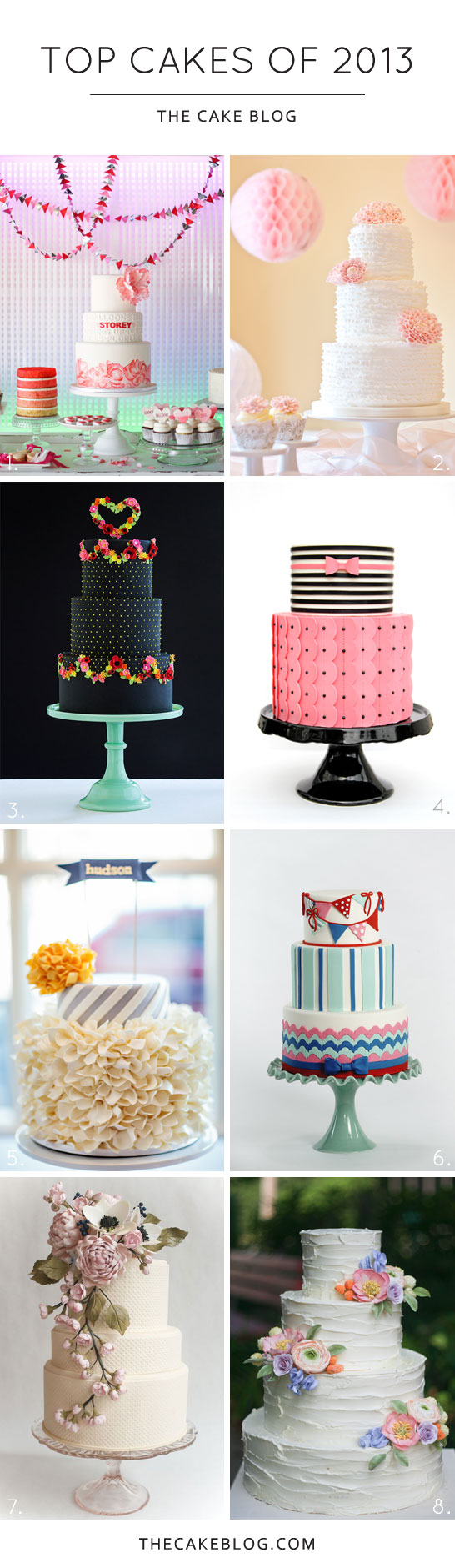 Top Cake Designs of 2013  |  TheCakeBlog.com