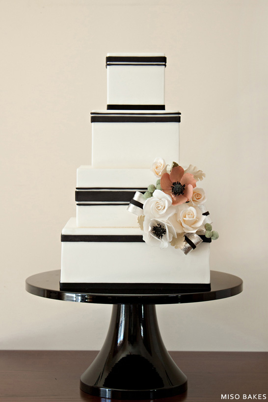 Black White Wedding Design