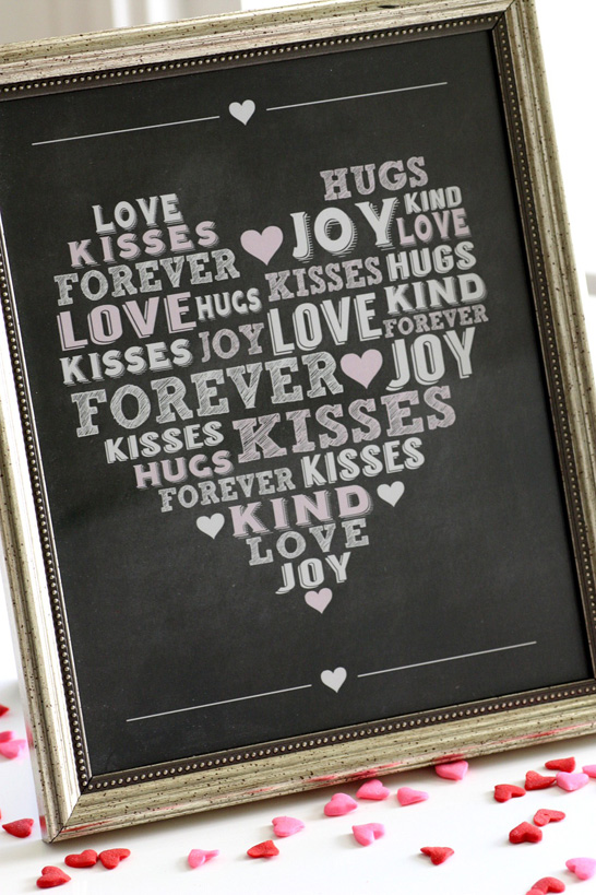 Free Printable Valentines | by Catch My Party on TheCakeBlog.com