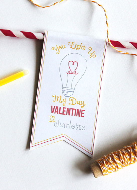 Free Printable Valentines | by Paper & Pigtails on TheCakeBlog.com