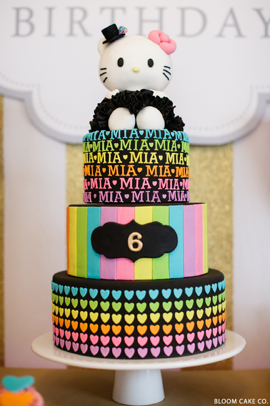 Hello Kitty Birthday Party | by Bloom Cake Co.