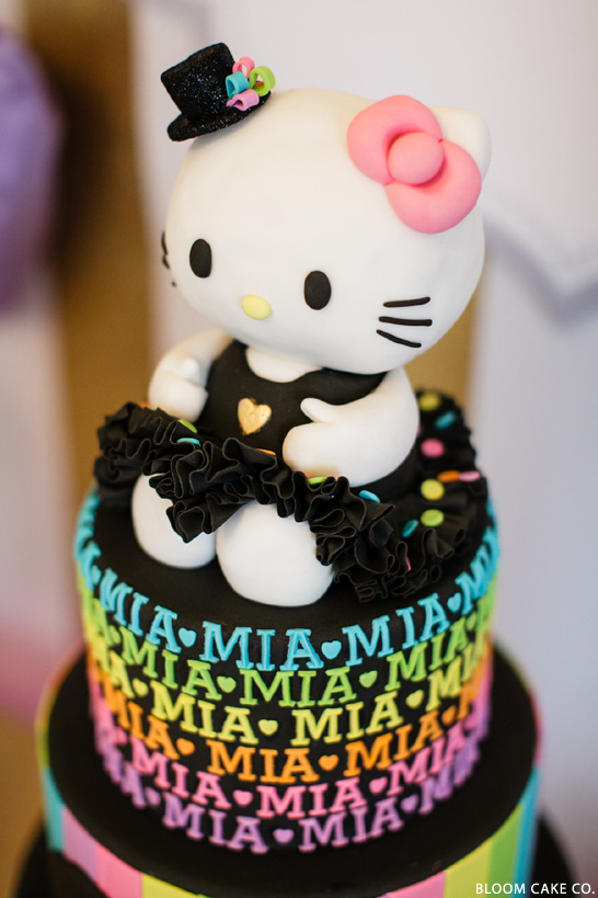 Absolutely. Positively. Incredible! A big thank you to Sharon Ho of ...: thecakeblog.com/2014/01/hello-kitty-birthday-party.html