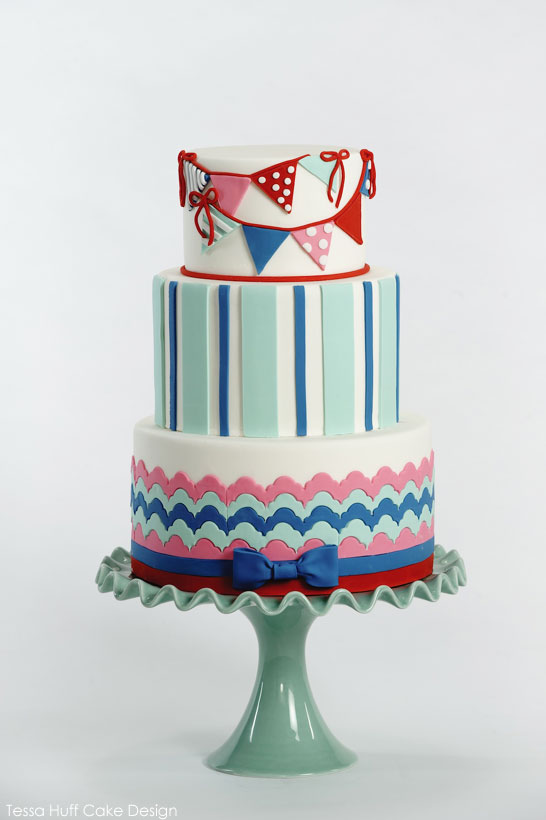 Top Cakes of 2013 | Preppy Nautical | by Tessa Huff