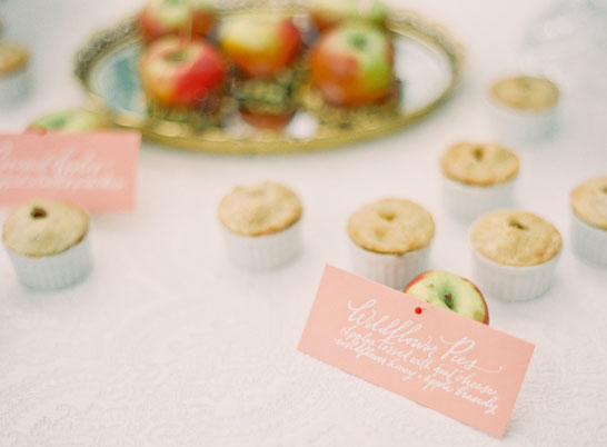 Apple Dessert Table | by Lael Cakes