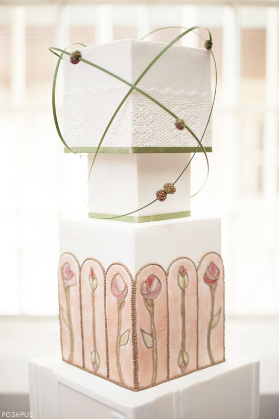 Stained Glass Window Cake   by Poshpud