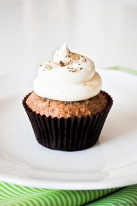 Zucchini Nut Cupcakes | by Carrie Sellman for The Cake Blog