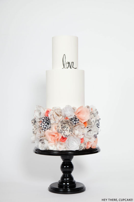 Wafer Paper Flower Cake | by Hey There, Cupcake!
