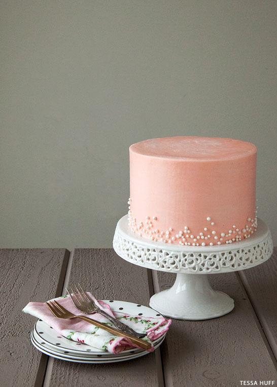 Rose Buttercream Cake