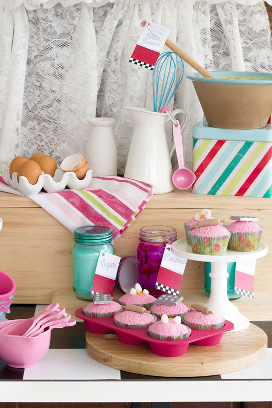 Stepford Wives Dessert Table   by Blissfully Sweet