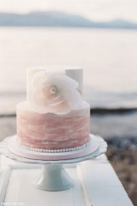 Watercolor Wedding Cake | by Sweet On You